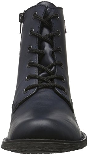 Rieker 70830, Botines para Mujer Azul (ozean-matt/graphit / 16)