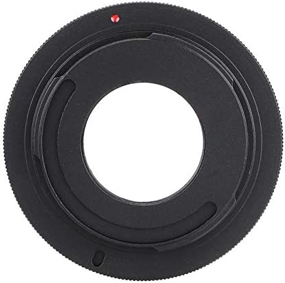 Value-5-Star C Mount Movie Lens to Mirrorless Cameras Adapter Dual Purpose of Good Quality M42