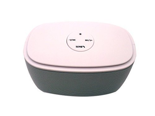 Creative Ipod Speakers (Creative Fun Spectrum Wireless Bluetooth Speaker with FM-radio, TF Card, USB Drive, Microphone, Works for iPhone, iPad, iTouch, Blackberry, Nexus, Samsung and Other Smart Phones)