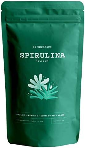 SB Organics Spirulina Powder Antioxidant