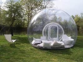 Burbuja hinchable - Tienda de campaña/casa: Amazon.es: Jardín