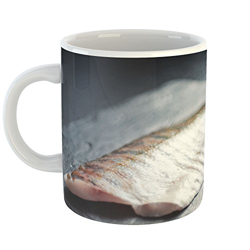 Epicure Grill (Westlake Art - Fish Seafood - 11oz Coffee Cup Mug - Modern Picture Photography Artwork Home Office Birthday Gift - 11 Ounce (DB4A-1706E))