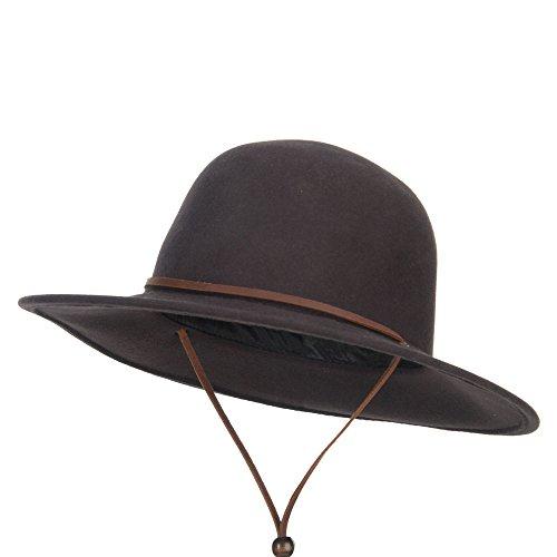 Jual Jeanne Simmons Round Crown Wool Felt Hat - Cowboy Hats  7e615c82dbf1