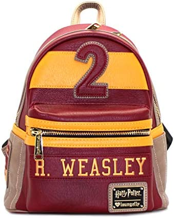 Loungefly Ron Weasley 2 Faux Leather Mini Backpack Standard