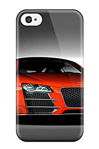 Tpu Shockproof/dirt-proof Audi R8 22 Cover Case For Iphone(4/4s)