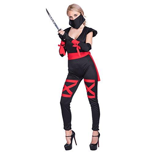EraSpooky Halloween Roleplay Ninja Traje para Las Mujeres ...
