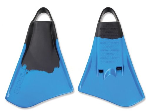 Ally ERS4 Swim Fins, Black/Blue, Large