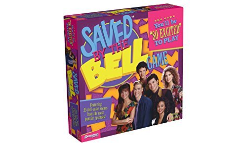 Saved by the Bell Exclusive Board Game (Screech Saved By The Bell)
