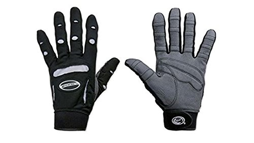 Bionic Womens Full Finger Fitness Gloves (Pair), Black, Large