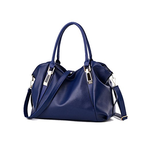 Handbags Hobos Handbag Ladies Women Shoulder Black Portable Leather PU Ladies Bag Bag Office Female Bags Totes wqU7qX1