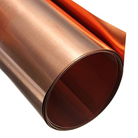 LTKJ 1PC 99.9/% Pure Copper Cu Metal Sheet Plate 1mmx100mmx100mm