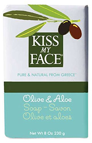 Aloe 8 Ounce Bar - Kiss My Face Bar Soap Olive and Aloe - 8 oz