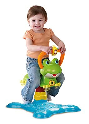 VTech Count and Colors Bouncing Frog Toy from V Tech