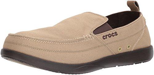 Crocs Walu Men, Khaki/Espresso, 10 M -