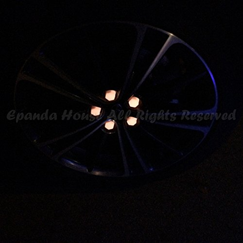 21mm 20X Glow In The Dark Blacklight Wheel Rim Lug Nuts Covers Cars/Bikes Pink by EpandaHouse (Image #7)