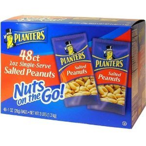 Planters Salted Peanuts - 48/1 oz. bags