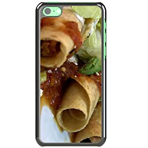 Apple iPhone 5C Cases Customized Gifts Of Food and Drink mexican foods Black