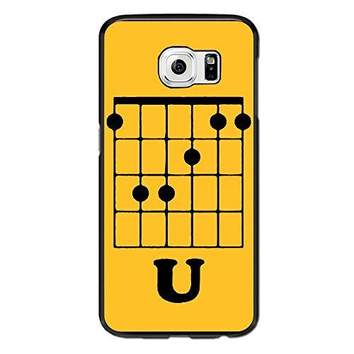 Guitar F Chord Flat Bill Snapback Case for Samsung Galaxy S6