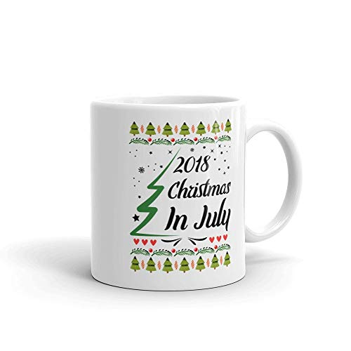 Christmas In July 2018 Mug Coffee Tea Cup Funny Summer Mug Coffee Tea Cup Gift for Christmas in July Celebration Party Yulefest Yuletide In Australia (Australia Christmas In July In)
