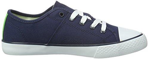 Polo Ralph Lauren daymond - Zapatillas Unisex Niños Azul - Blau (navy canvas-white)
