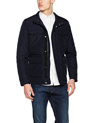 Tommy Chaqueta AF Midnight Hilfiger Azul C para Quilted Hombre pTr7qp