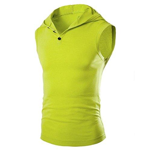 PHOTNO-Men-Summer-Fashion-hooded-pullover-t-shirt-vest-sleeveless-crop-top-tank-top-hoodie