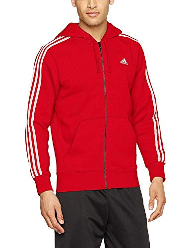Sweat shirt Capuche Adidas Fz Homme scarlet Sport Ess B white Scarlet Rouge De À white 3s 1WHqIHxX