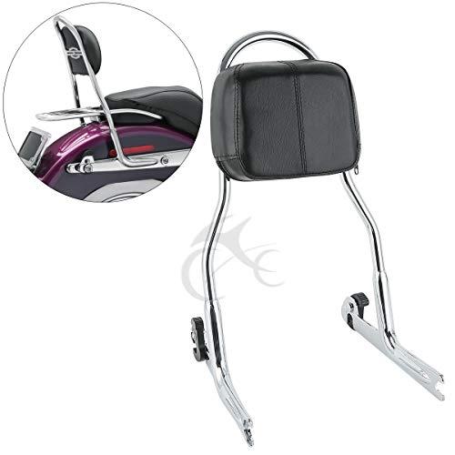 - XFMT Detachable Passenger Sissy Bar Backrest Compatible with Harley Softail FLSTN Fat Boy FLSTF