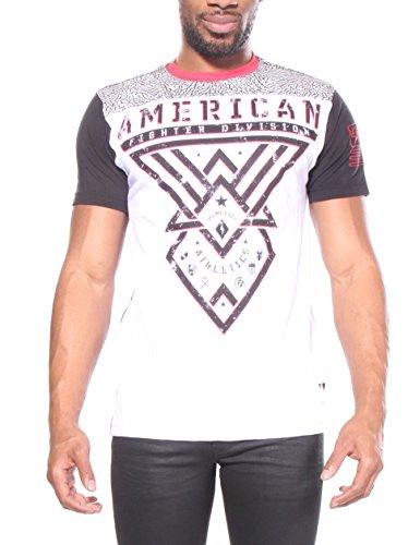 Fighter Hommes T shirts Ledford American XPawX