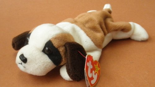 TY Beanie Babies Bernie the St. Bernard Dog Plush Toy Stuffed Animal by Unknown ()