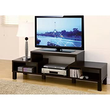 Amazon Com 60 Inch Television Stand Tv Console Wooden Plasma Tv