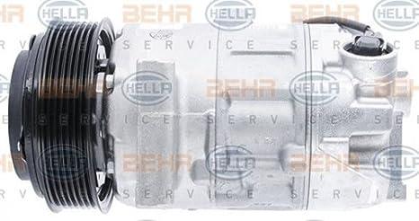 BEHR HELLA SERVICE 8FK 351 003-451 *** PREMIUM LINE *** Compresor, aire acondicionado: Amazon.es: Coche y moto