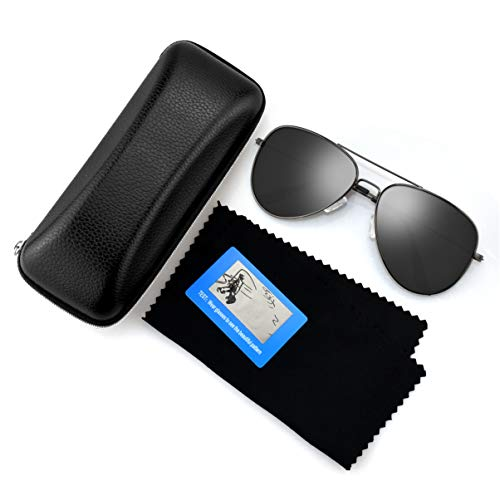 17a523fd35 Polarized Aviator Sunglasses for Men Women Metal Mens Sunglasses Driving Sun  Glasses