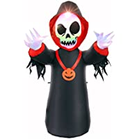 BrightTouch Inflatable Halloween Decorations for Outdoor or Balcony with Led Lights