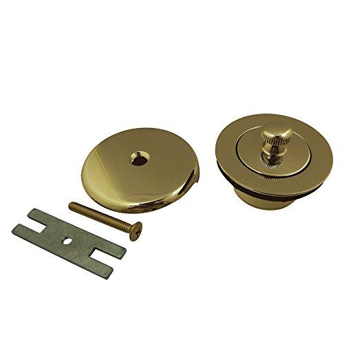 Kingston Brass DLT5301A2 Lift and Turn Tub Drain Kit, Polished Brass