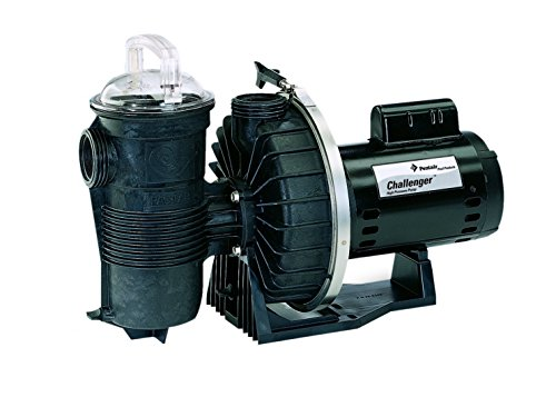 Pentair 346204 1HP 115/230V Challenger Single-Speed High Pressure Pool Pump