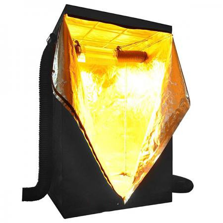 Koval Inc. Hydroponics Indoor Grow Tent - 4 x 4 (48