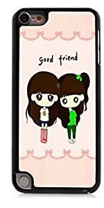 HeartCase Hard Case for Apple itouch 5g 5th Generation ( Cartoon Girl Cute )