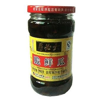 Beijing LIU Biju Salted Crisp Cucumber 290g (Pack of 1)