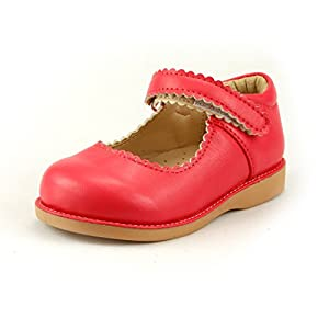 The Doll Maker Girl's Mary Jane Flat for Toddler/Little Kid School Dress Shoes