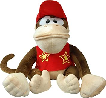 "Super Mario Hermanos Donkey Kong 12 ""peluche Diddy Kong"
