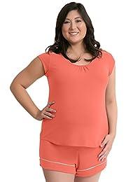 Kindred Bravely The Amelia Ultra Soft Maternity & Nursing Pajamas - Shorts Set