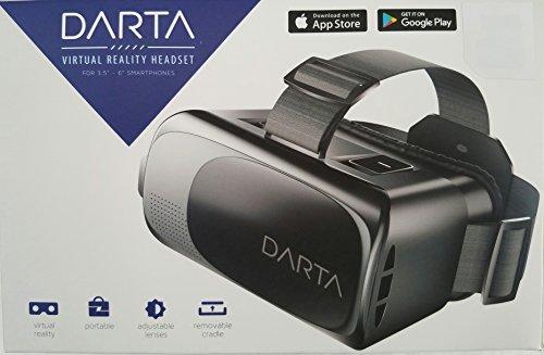 DARTA Virtual Reality Headset for 3.5' - 6' Smartphones
