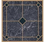 Kitchen Floor Tile Designs Mintcraft CL2002 Vinyl Floor Tile Blue/Gold
