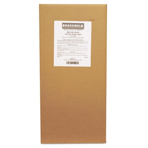 Boardwalk Oil-Based Sweeping Compound, Grit, 100lbs, Box - Includes one box. by Boardwalk