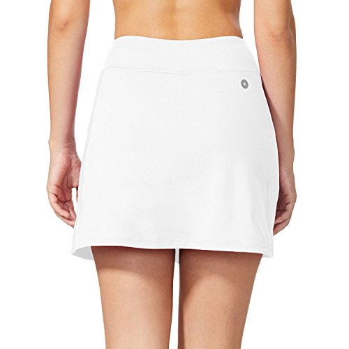 Baleaf Women's Active Athletic Skort Lightweight Skirt with Pockets for Running Tennis Golf Workout
