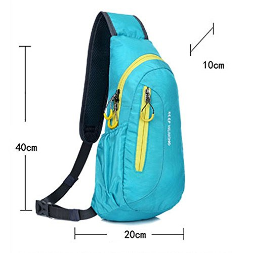 Sport Chest Outdoor Unisex Blu Jadeys Waterproof Borse wRng68x1q
