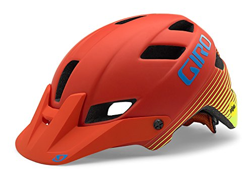 Giro-Feature-MIPS-Equipped-Bike-Helmet-Matte-Glowing-RedHighlight-Yellow-Small
