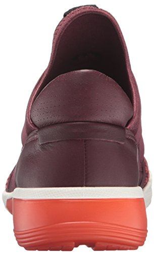 2 coral 50315bordeaux Rot Baskets Basses Ecco Femme Rouge Bordeaux Intrinsic Blush xqRHF585w