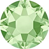 2000, 2038 & 2078 Swarovski Flatback Crystals Hotfix Chrysolite | SS16 (3.9mm) - Pack of 1440 (Wholesale) | Small & Wholesale Packs | Free Delivery